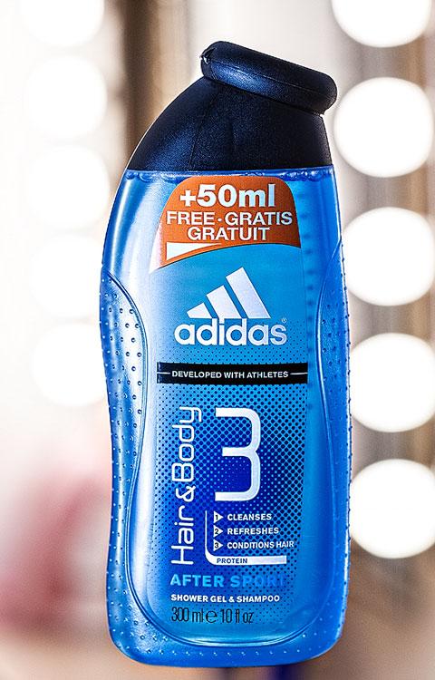 Produktfoto-adidas shampoo