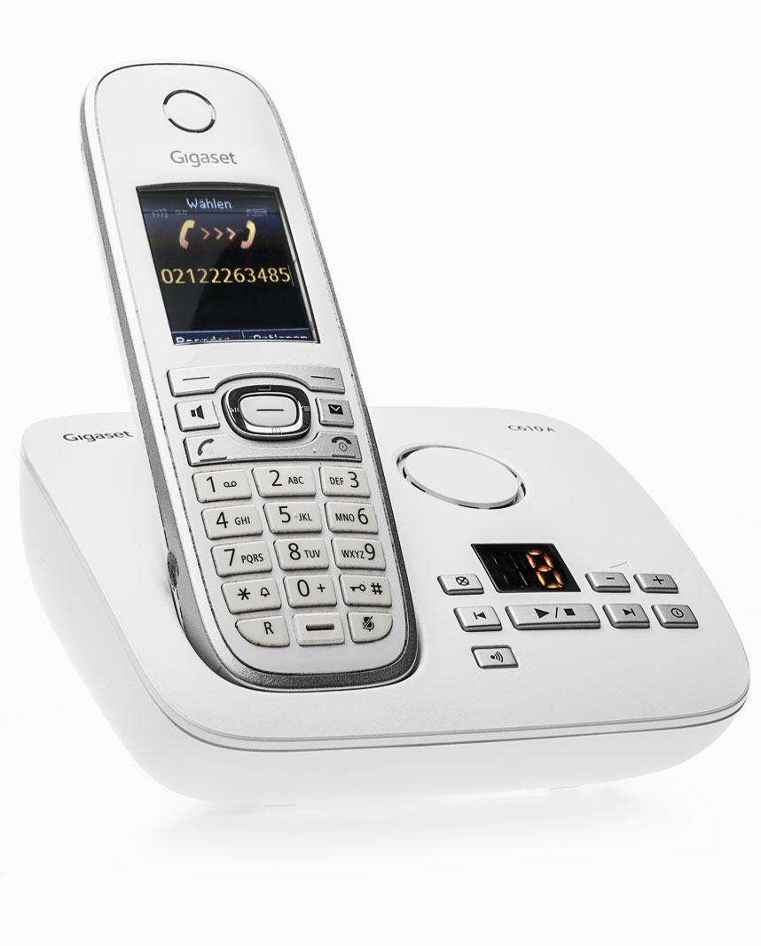 Produktfotografie Kontakt Telefon